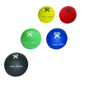 Cando Soft Pliable Medicine Ball (5-piece set)