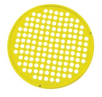 "CanDo® Hand Exercise Web - Latex Free - 14"" Diameter - Yellow - X-light"