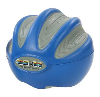 CanDo® Digi-Squeeze® hand exerciser - Large - Blue, firm