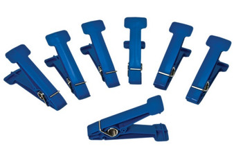 Replacement Pins for Graded Pinch Finger Exerciser (Blue, Heavy, 5 pieces)