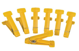 Replacement Pins for Graded Pinch Finger Exerciser (Yellow, Extra Light, 5 pieces)
