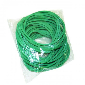 CanDo® Hand Exerciser - Additional Latex Free Bands - Green - Medium - 25 Bands Only