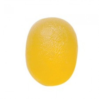 CanDo® Gel Squeeze Ball - Large Cylindrical - Yellow - X-Light