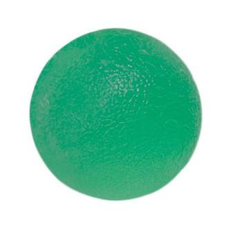CanDo® Gel Squeeze Ball - Standard Circular - Green - Medium