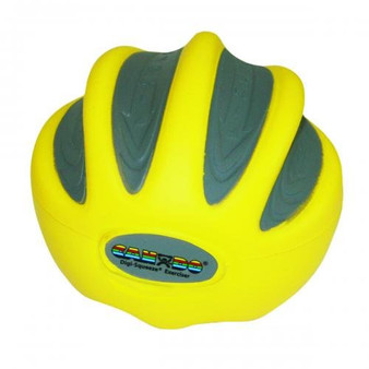 CanDo® Digi-Squeeze® hand exerciser - Large - Yellow, x-light