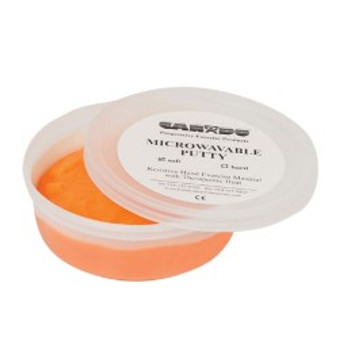 CanDo® Microwavable Theraputty® Exercise Material - 6 oz - Orange - Soft