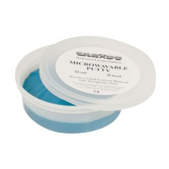 CanDo® Microwavable Theraputty® Exercise Material - 4 oz - Blue - Firm