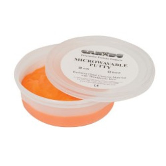 CanDo® Microwavable Theraputty® Exercise Material - 4 oz - Orange - Soft