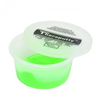 CanDo® Theraputty® Exercise Material - 2 oz - Green - Medium:
