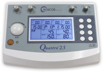 Quattro 2.5 Electrotherapy Device by Roscoe Medical