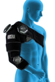 ICE 20 Combo Arm Cold Compression Wrap for Shoulder and Elbow