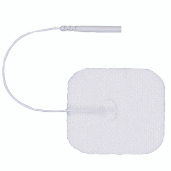 2-Inch Square AdvanTrode Essential Electrode White Set of 40