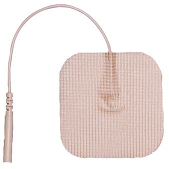 AdvanTrode Elite Electrode 2-Inch Square Tan Tricot Set of 40