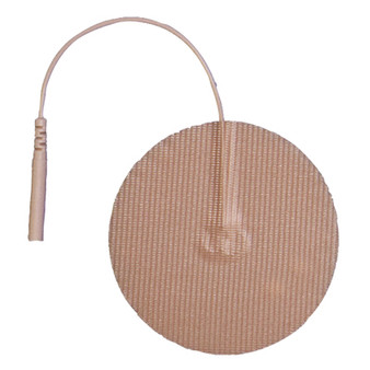 AdvanTrode Elite Electrode 2-Inch Round Tan Tricot Set of 40