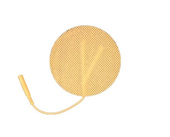 """3"""" Round Electrode Foil Pack Tan Cloth"""