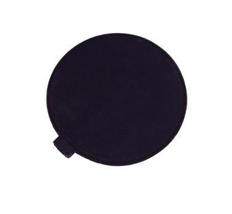 Black Rubber Electrode Round