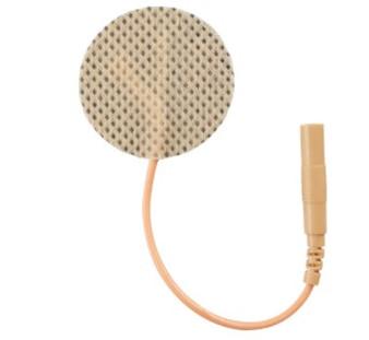 reusable tan cloth 1.25 inches round