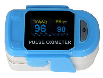 Baseline fingertip pulse oximeter, deluxe (2 AAA batteries included)
