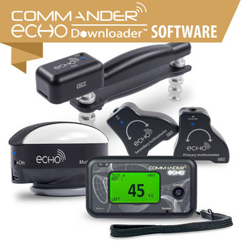Base Kit and Console, Dual Inclinometry, Muscle Testing, Grip, Commander Echo Downloader
