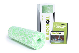"BLACKROLL® MED, 12"" x 6"" Roll, White/Green"
