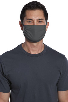 Charcoal Wholesale Bulk Pack Cotton Face Masks for Sale - Pack of 500