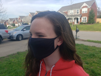 100% Cotton Face Mask Made in USA