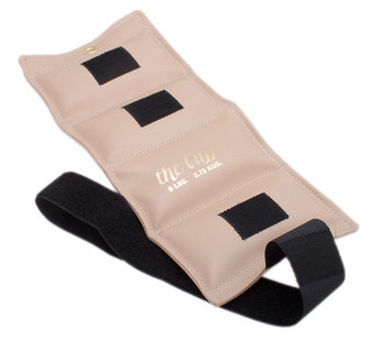 The Cuff Original Ankle and Wrist Weight - 6 lb - Beige