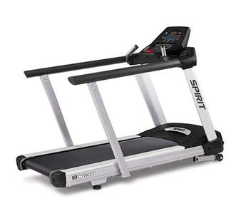 "Spirit, CT800 Treadmill with Medical Handrails, 84"" x 35"" x 57"""