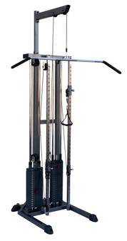 100 lb. Free-Standing Double Pulley w/ boom