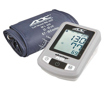 Adult Plus Automatic Digital Blood Pressure Monitor, Navy