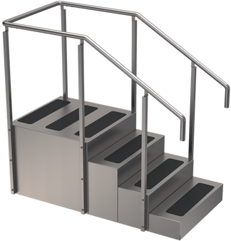 One Sided Training Stairs Whitehall TS-400