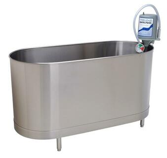 Whitehall S-110-S Stationary Sports Whirlpool Therapy System 110 Gallon with Legs