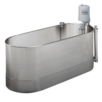 Whitehall Stainless Steel 75 Gallon Lo-Boy Stationary Whirlpool (L-75-S)