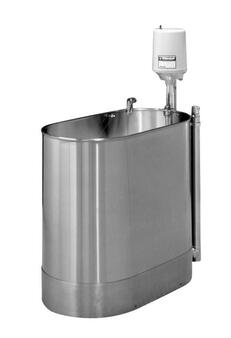 Whitehall Stainless Steel Hi-Boy 60 Gallon Stationary Whirlpool (WH-H-60-S)