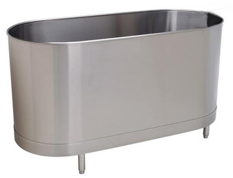 Whitehall Stainless Steel 85 Gallon Stationary Cold Tank with Legs W/Out Turbine (WH-85-S-SL-TO)