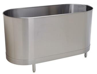 Whitehall Stainless Steel 90 Gallon Stationary Sport Cold Tank with Legs W/Out Turbine (WH-90-S-SL-TO)