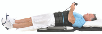 Saunders lumbar traction - HomeTrac