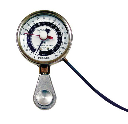 100-Pound Pinch Gauge w Electronic Output for Computer Interface