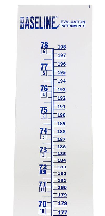 Baseline Wall Growth Chart Measurement Range 0 78 0 198 Cm En