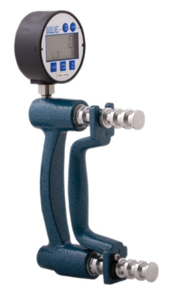 Digital Hydraulic Hand Dynamometer designed to quickly and accurately measure grip strength with large digital LCD display
