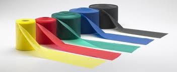 Shop for individual or bulk exercise bands. All colors and weights available.