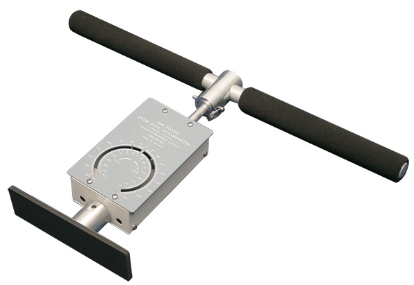Shop push pull dynamometers made by Baseline Evaluation, JTECH, and Lafayette