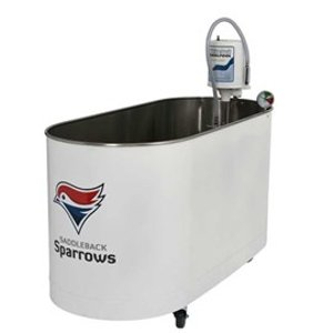 Custom Therapeutic Sports Whirlpool baths for Hot and Cold Therapy Treatments. Made by Whitehall Hydrotherapy Products.