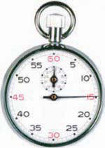 60 minute manual stopwatch