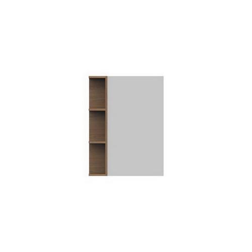 Glacier Mirrored Cabinet 600mm 1 Door Left Hand Shelf [165111]