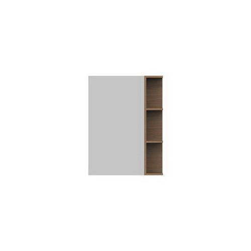 Glacier Mirrored Cabinet 600mm 1 Door Right Hand Shelf [165112]