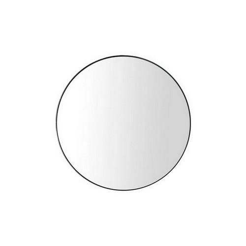 Alora Round Mirror 700mm Matte Black [166309]