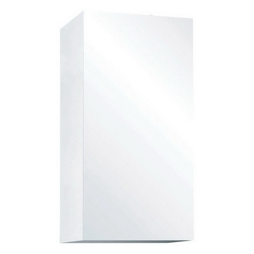 Pencil Edge Mirrored Cabinet 300mm Gloss White [169152]