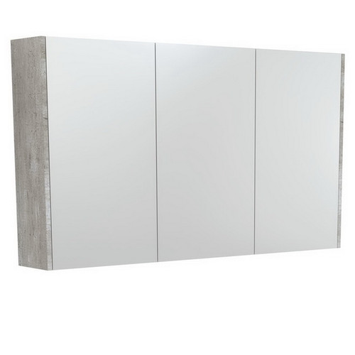 Mirrored Cabinet with Side Panels 1200mm Industrial [169169]