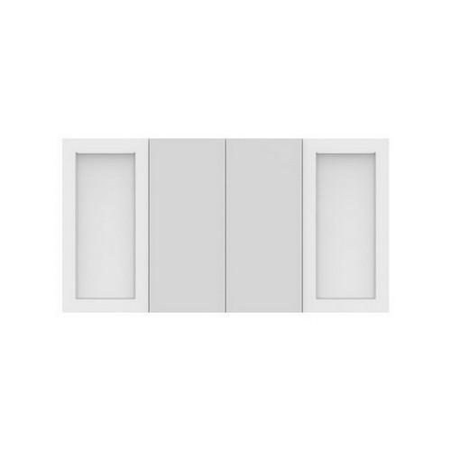 London Shaving Cabinet 1500mm 4 Door Double Shaker Door [191329]